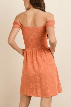 dress forum Orange Polka-Dot Dress - Alternate List Image