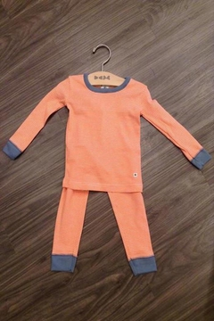 Shoptiques Product: Orange Striped Pajamas