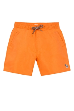 Shoptiques Product: Orange 'Titan' Shark-Swim-Shorts