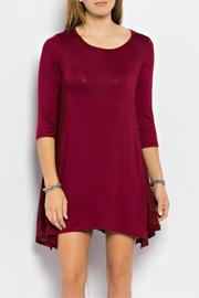 Orange Creek Burgundy Lace Tunic - Product Mini Image