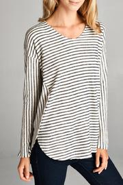 Orange Creek Long-Sleeve Stripe Top - Product Mini Image