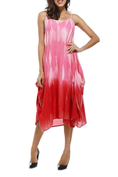 Shoptiques Product: Tie-Dye Pocket Dress