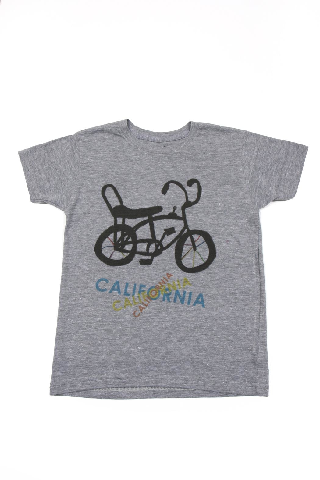 Orange Heat Banana Seat Bike Tee - Main Image