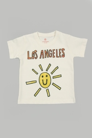 Orange Heat Organic La Sunshine Tee - Product Mini Image