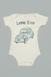 Orange Heat Organic Love Bug Onesie - Product Mini Image