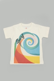 Orange Heat Organic Surf Tee - Product Mini Image