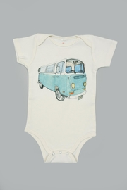 Orange Heat Organic Vw Bus Onesie - Product Mini Image