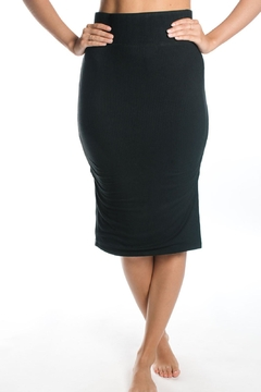 Shoptiques Product: Reversible Ribbed Pencil-Skirt