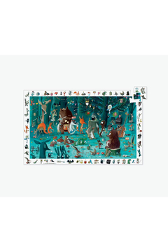 Djeco Orchestra 100 Piece Observation Puzzle - Product List Image