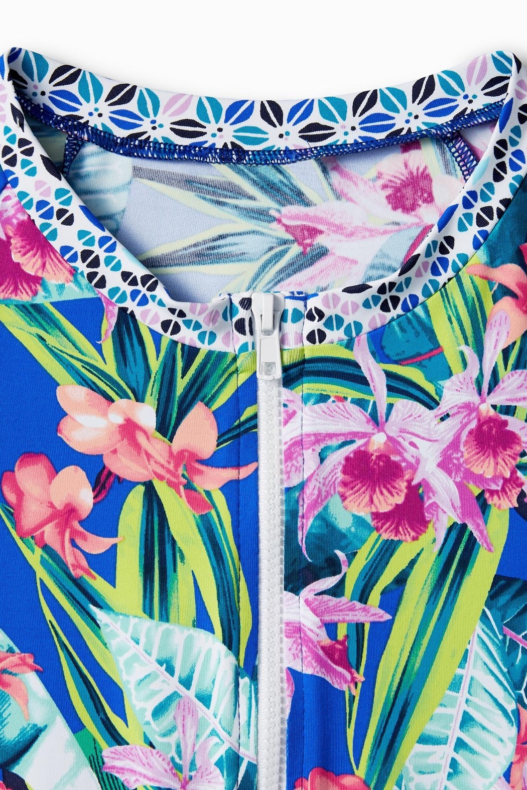 Tommy Bahama Orchid Grove Rash Guard Top - Side Cropped Image