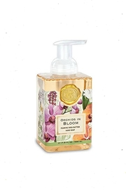 Michel Design Works Orchid-In-Bloom Foaming Soap - Front cropped