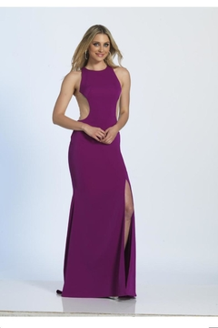 Dave and Johnny Orchid Mesh Dress - Product List Image