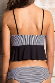 Orchid Label Ada Stripes Top - Back cropped