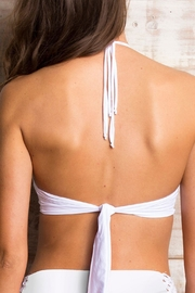 Orchid Label Caterina White Top - Back cropped