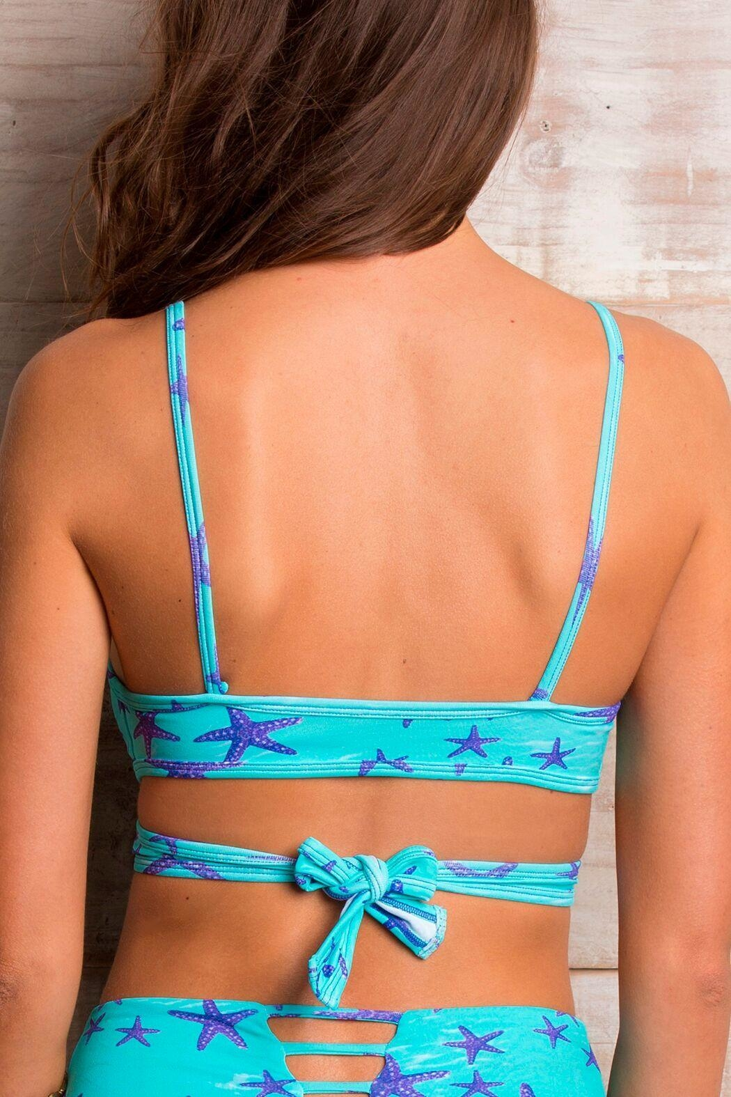 Orchid Label Emma Starfish Top - Back Cropped Image