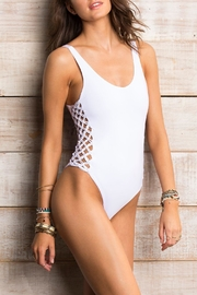Orchid Label Jess White One Piece - Product Mini Image