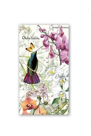 Michel Design Works Orchids-In-Bloom Hostess Napkins - Product Mini Image