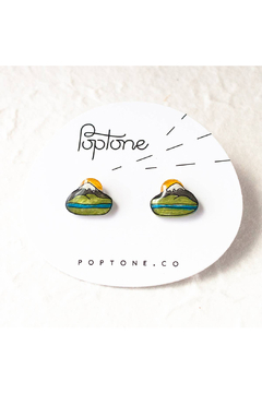 Poptone Co. Oregon Mount Hood Stud Earrings - Product List Image