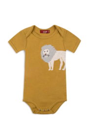 Milkbarn Kids Organic Applique One Piece - Product Mini Image