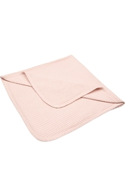ANTEBIES ORGANIC BABY PINK POINTELLE BLANKET - THE PERFECT SHOWER GIFT - Product Mini Image