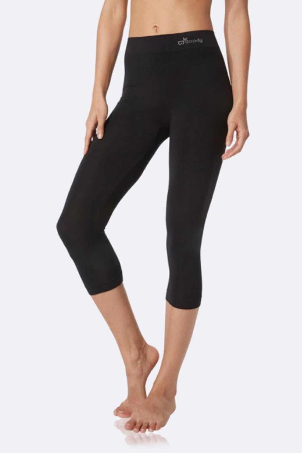 Boody Organic Bamboo Cropped-Legging - Front Full Image