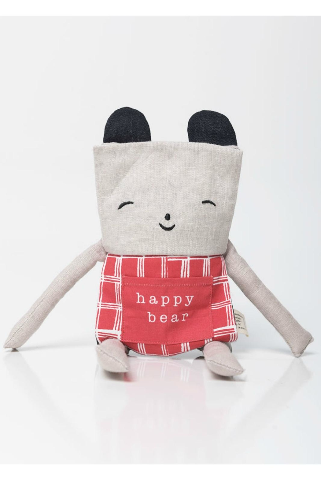 Wee Gallery Organic Bear Flippy-Friend - Front Full Image