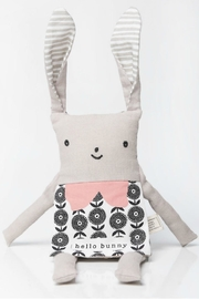 Wee Gallery Organic Bunny Flippy-Friend - Front cropped