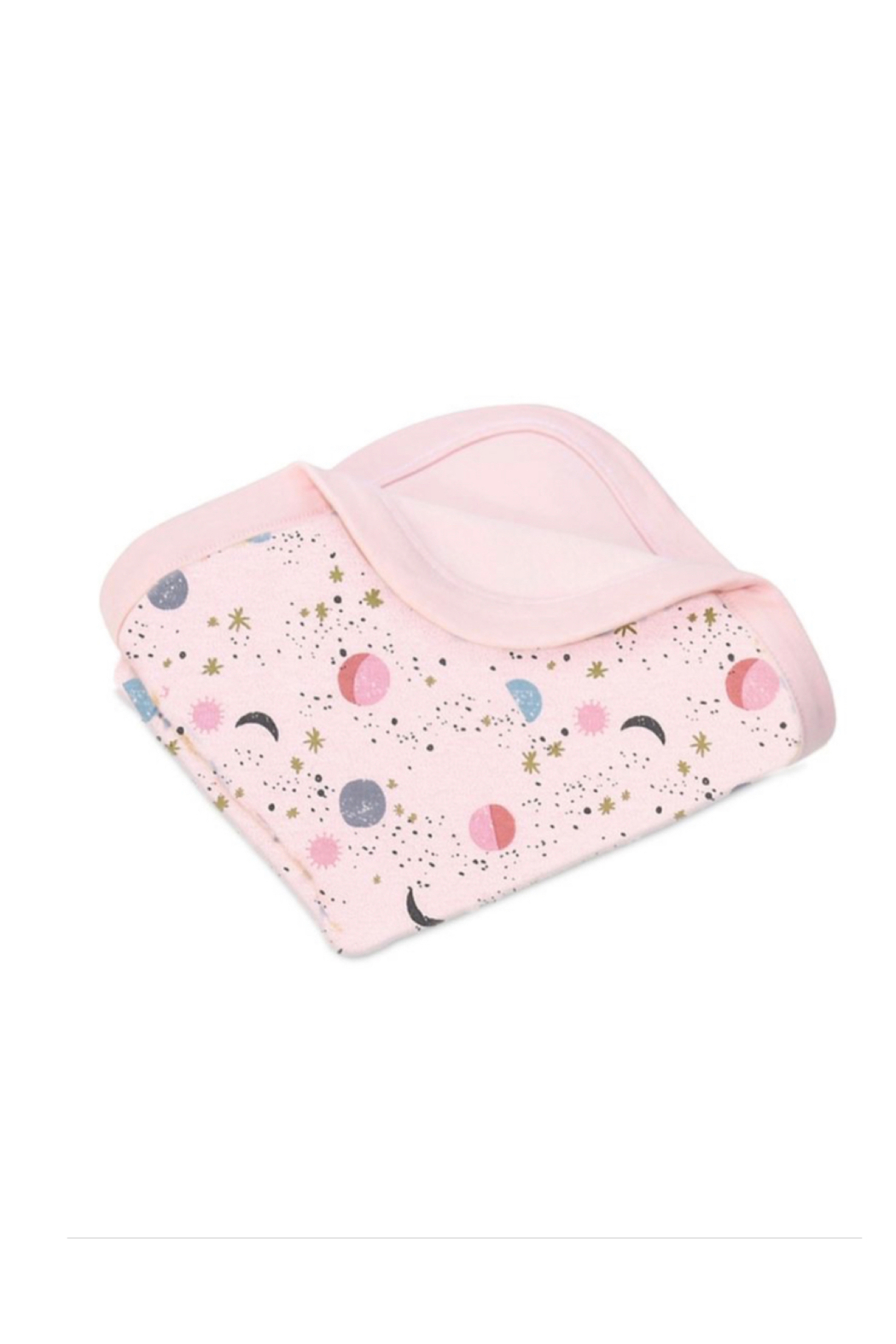 Apple Park Organic Cotton Baby Blanket - Front Cropped Image