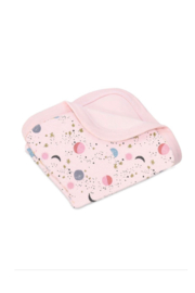 Apple Park Organic Cotton Baby Blanket - Front cropped