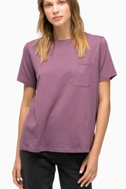 Richer Poorer Organic Cotton Crew - Front cropped