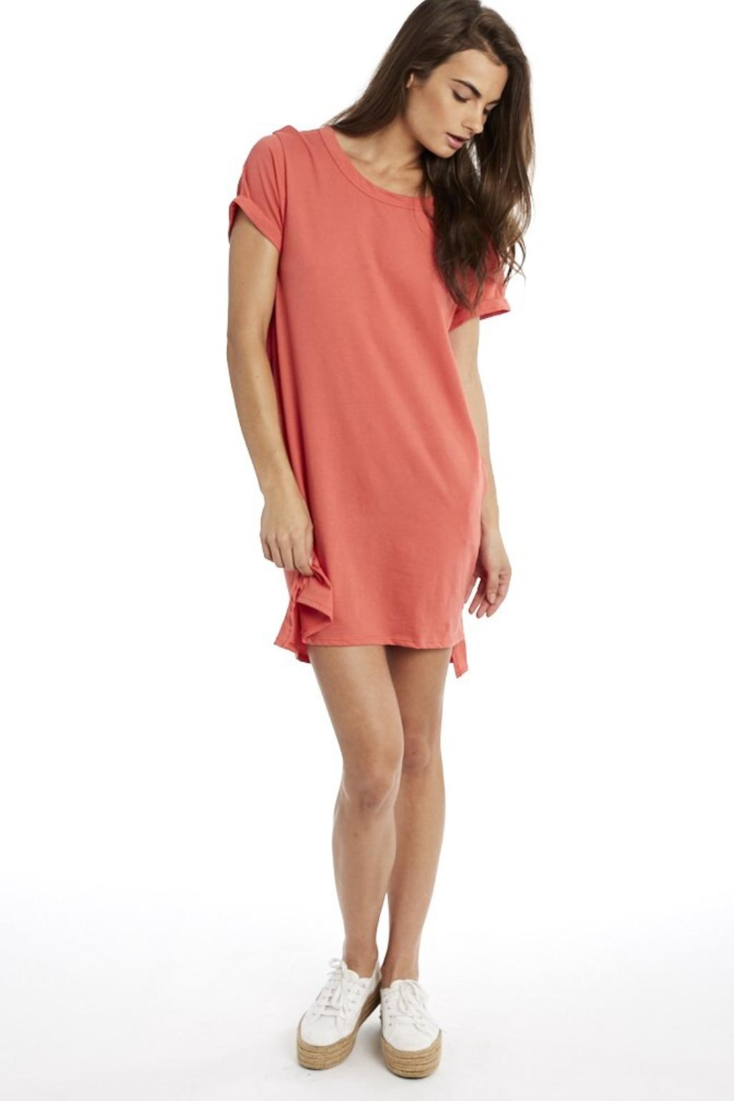 Groceries Apparel Organic Cotton Dress - Front Full Image