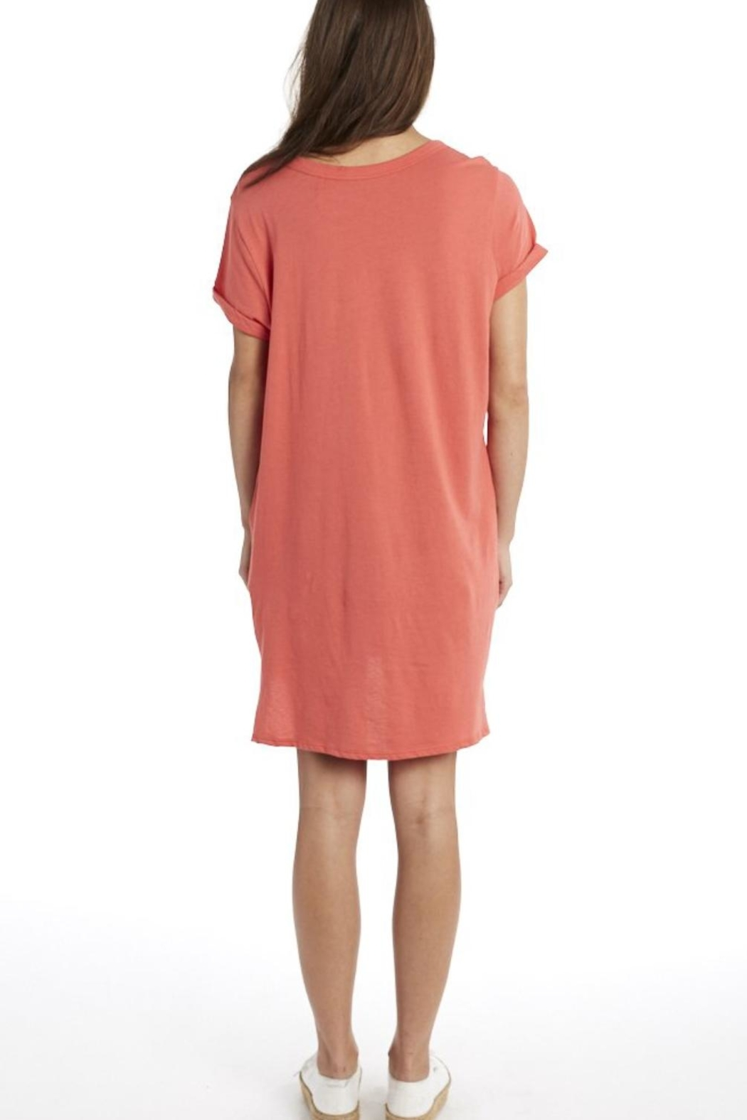 Groceries Apparel Organic Cotton Dress - Side Cropped Image