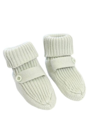 viverano organics Organic Cotton Flat Knit Bootie Set - Product Mini Image