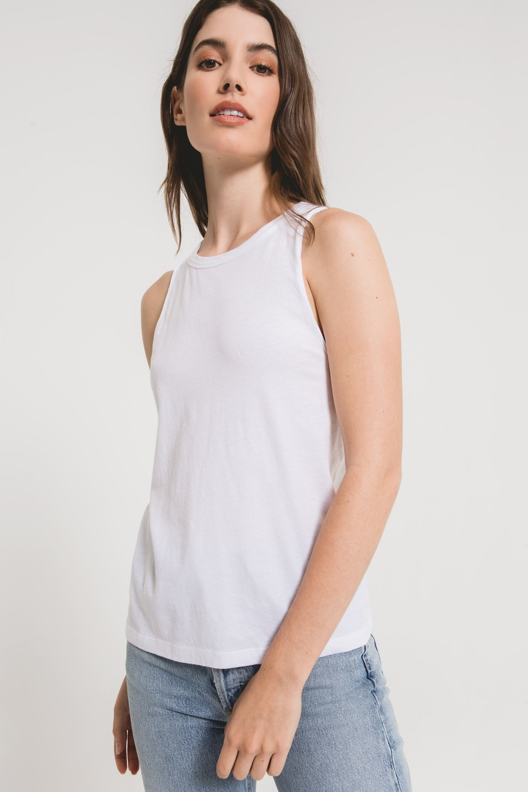 z supply Organic Cotton Muscle Tank - Front Cropped Image