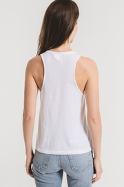 z supply Organic Cotton Muscle Tank - Back cropped