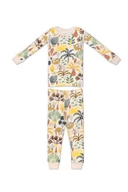 Apple Park Organic Cotton Pajama - Sloth - Product Mini Image