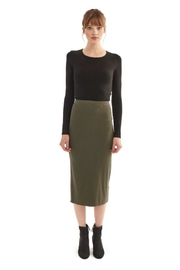 Groceries Apparel Organic Cotton Skirt - Front cropped