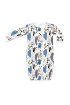 Apple Park Organic Cotton Sleep Gown - Abstract Dusk - Product List Image