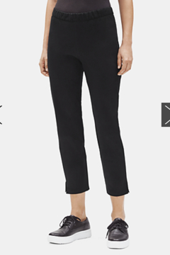 Eileen Fisher ORGANIC COTTON SLIM ANKLE PANT - Product List Image