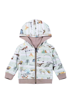 Paper Wings Organic Explore Nature Reversible Hoodie - Product List Image