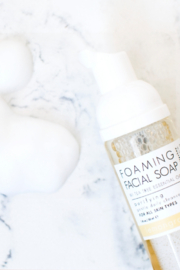 Honey Belle Skin Organic Foaming Facial Soap - Front cropped