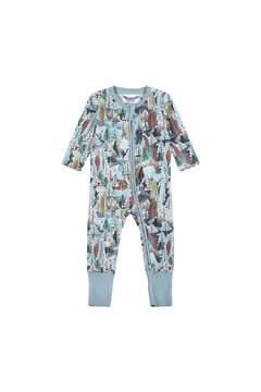 Paper Wings Organic Forest Romper - Alternate List Image
