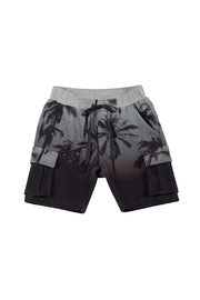 Paper Wings Organic French Terry Cargo Shorts - Front cropped