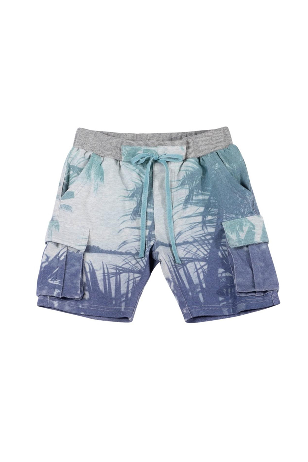 Paper Wings Organic French Terry Cargo Shorts - Front Cropped Image