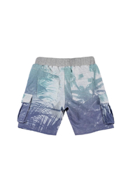 Paper Wings Organic French Terry Cargo Shorts - Front full body