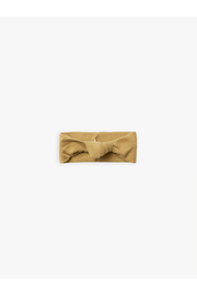 Quincy Mae Organic Knotted Headband - Gold - Product Mini Image