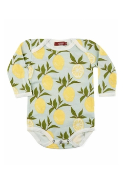 Milkbarn Kids Organic Lemon One-Piece - Alternate List Image