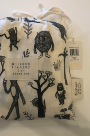 Wilson and Frenchy Organic Little Monster Sheet & Blanket - Product Mini Image