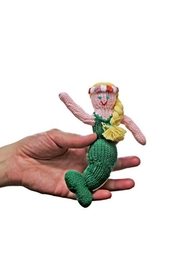 Estella Organic Mermaid Rattle - Front cropped