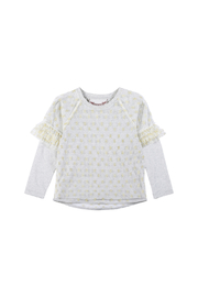 Paper Wings Organic Mesh Layered Shirt - Product Mini Image